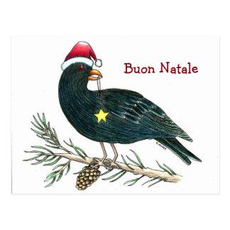 """Cartão italiano """"Buon Natale """" do Natal"""