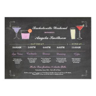 Cartão Itinerário do roxo do giz do chá de panela de