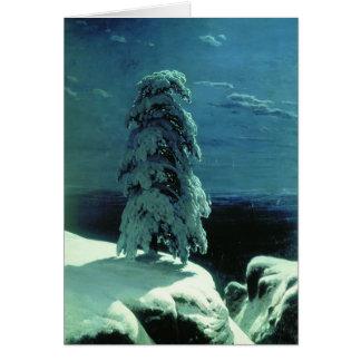Cartão Ivan Shishkin- no norte selvagem