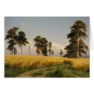 Cartão Ivan Shishkin Rye CC0452