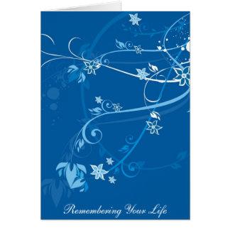 Cartão j0433046, recordando sua vida