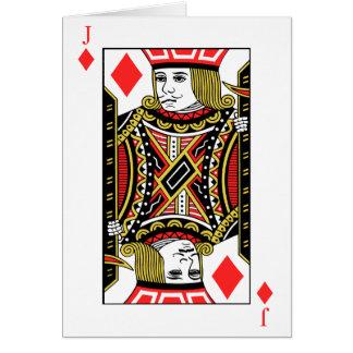 Cartão Jack dos diamantes