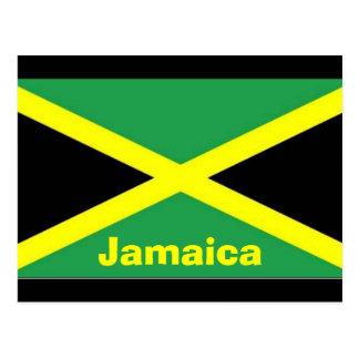 Cartão jamaicano da bandeira