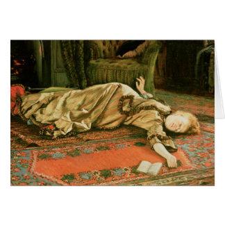 Cartão James Jacques Joseph Tissot   abandonado