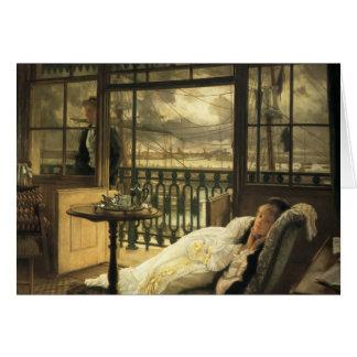 Cartão James Tissot- A que passa a tempestade