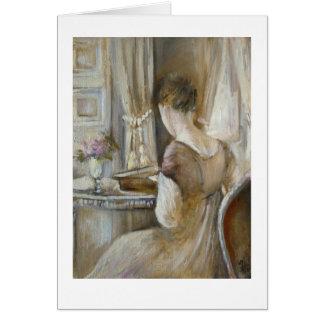 Cartão ♕ Jane Austen - um ♕ do © H.Flont da senhora da