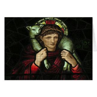 Cartão Janela de vitral
