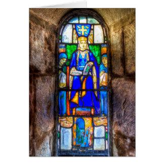 Cartão Janela de vitral Edimburgo