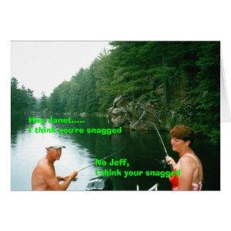 Cartão janet & jeff