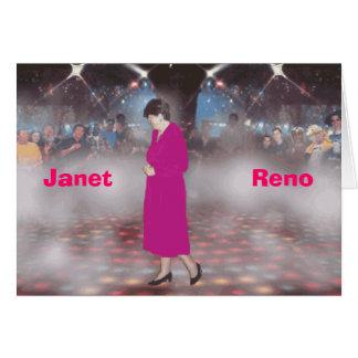 Cartão Janet reno
