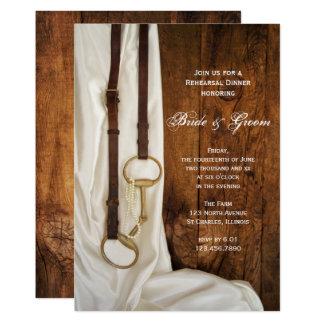 Cartão Jantar de ensaio branco do casamento do bocado do