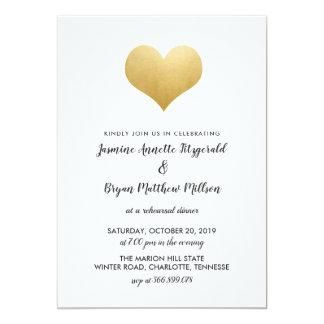 Cartão Jantar de ensaio lunático do coração | da folha de