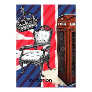 Cartão Jaque de união da coroa do victorian da cabine de