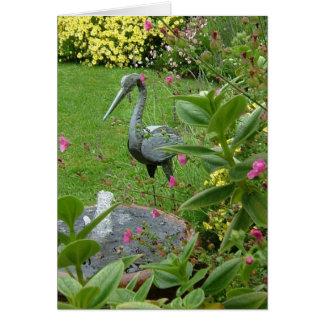 Cartão Jardim calmo