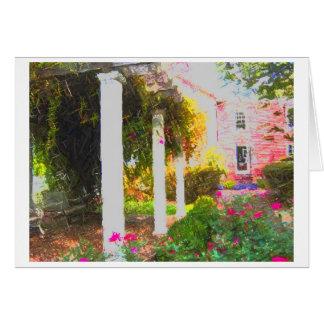 Cartão Jardim celestial