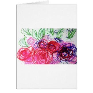 Cartão Jardim da imaginação