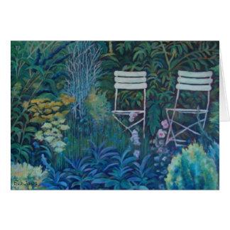 Cartão Jardim de Sarah por Bev James