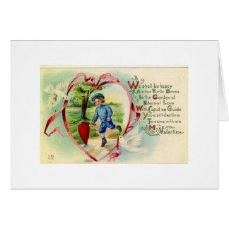 Cartão Jardim do amor eterno