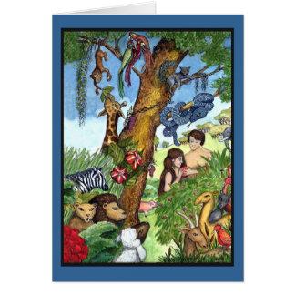 Cartão Jardim do Éden - personalizado