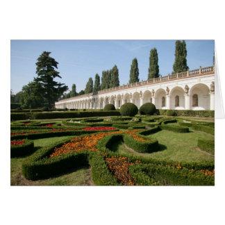 Cartão Jardim, Kroměříž - república checa