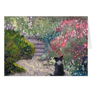 Cartão Jardim secreto
