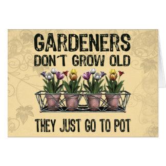 Cartão Jardineiro idosos