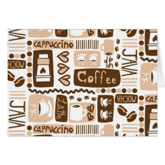 Cartão Java Java Java!