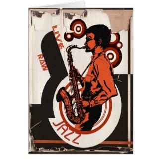 Cartão Jazz vivo