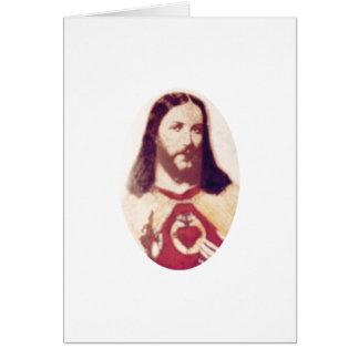 Cartão Jesus Cristo: O deus é amor