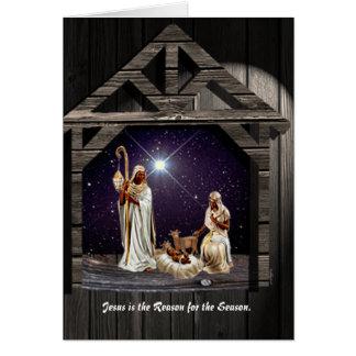 Cartão Jesus é a razão para a estação