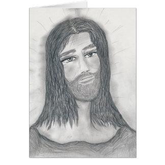 Cartão Jesus sereno