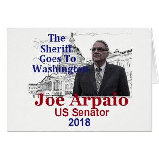 Cartão Joe ARPAIO AZ 2018
