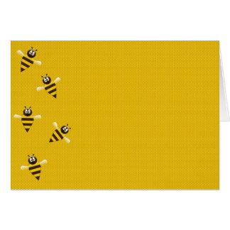Cartão Joelhos das abelhas