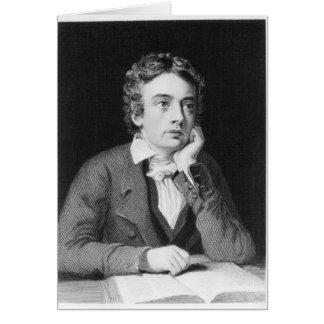 Cartão John Keats