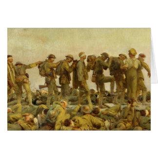 Cartão John Singer Sargent - intoxicado