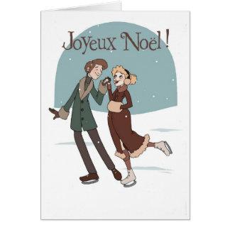 Cartão Joyeux Noël