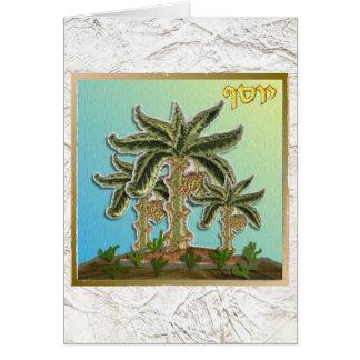 Cartão Judaica 12 tribos de Israel Joseph