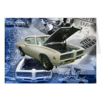 Cartão Juiz de 69 GTO