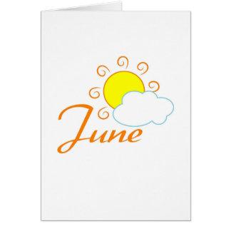Cartão Junho