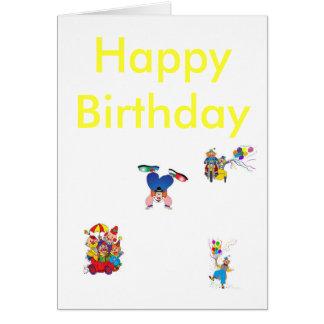 Cartão k0498154, k4421361, k4401903, k0494875, B feliz…