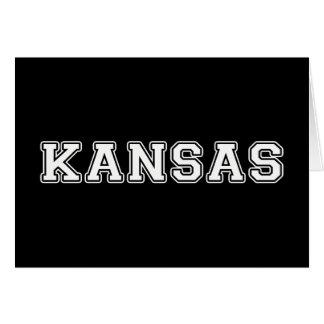 Cartão Kansas