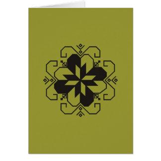 Cartão Karte letão dos saulites
