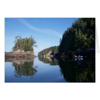 Cartão Kayaking