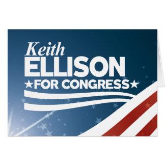 Cartão Keith Ellison