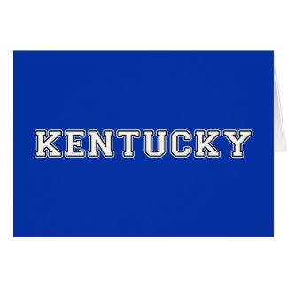 Cartão Kentucky