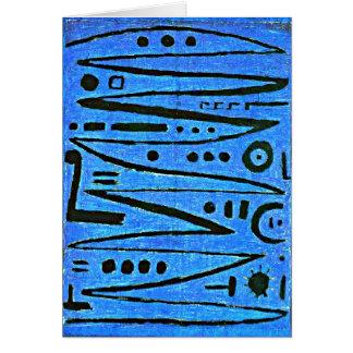 Cartão Klee - tocar violino heróico