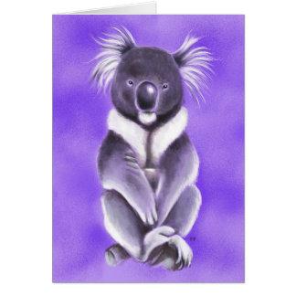 Cartão Koala de Buddha