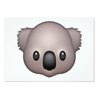Cartão Koala - Emoji