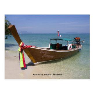 Cartão - Koh Naka, Phuket, Tailândia