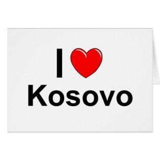 Cartão Kosovo